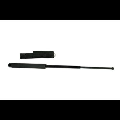 Bâton de défense télescopique 66 cm acier trempé