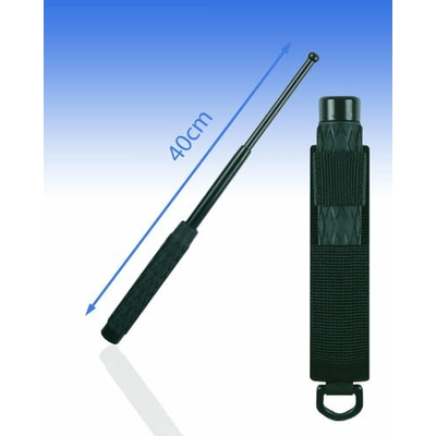 Matraque télescopique 40 cm acier