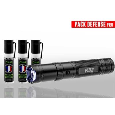 Pack d'auto-défense avec 4 armes efficaces