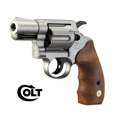 Colt Detective special - nickel/bois Cal. 9mm UMAREX