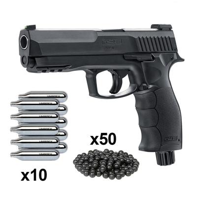 Pack Pistolet Umarex T4E HDP 50 (11 joules) - 50 balles caoutchouc métal