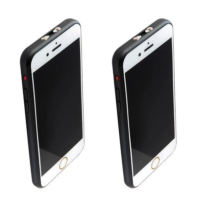 Lot de 2 x Taser iphone 6 millions de volts rechargeable usb