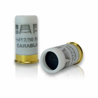 Boîte de 4 cartouches à blanc Calibre 12/50 mm