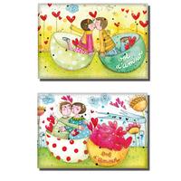 Magnets Les bols d'amour