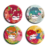 Magnets Kokeshinas de saisons
