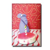 Magnet  L'anniversaire de Charles-Edouard