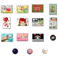 15 magnets - L'amour est dans le pack!