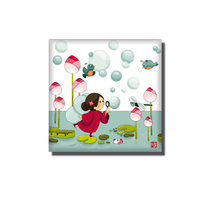 Magnet La fée des bulles