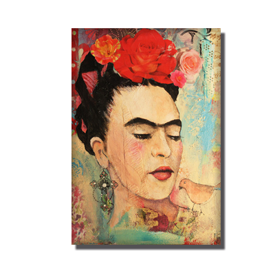 Frida-With-the-Bird-Julie-G