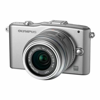 Olympus E-PM1 14-150 mm argent