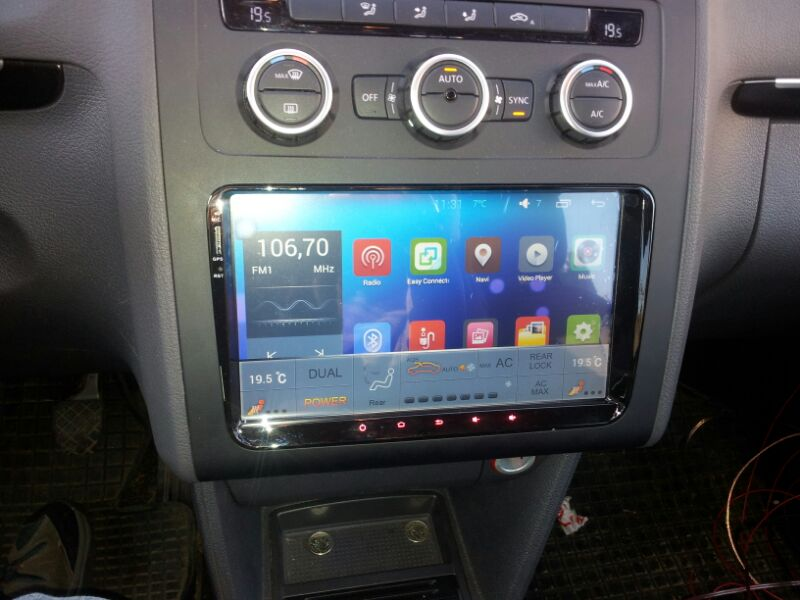 commander votre cran tactile 9 android 8 1 gps wifi volkswagen autoradio. Black Bedroom Furniture Sets. Home Design Ideas