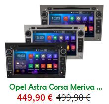Autoradio Wifi GPS Opel