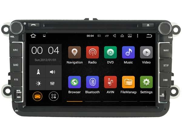 nouveau autoradio android 7 1 gps wifi internet volkswagen. Black Bedroom Furniture Sets. Home Design Ideas