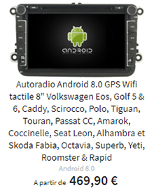 autoradio cran tactile peugeot 407 android 7 1 wifi dvd gps. Black Bedroom Furniture Sets. Home Design Ideas