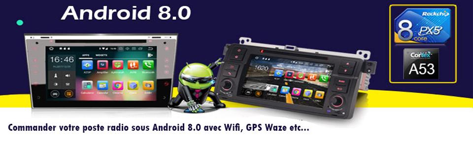 Autoradios Android 8.0