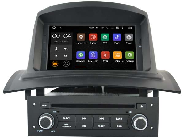 autoradio android 8 1 wifi bluetooth gps dvd megane 2 autoradio. Black Bedroom Furniture Sets. Home Design Ideas
