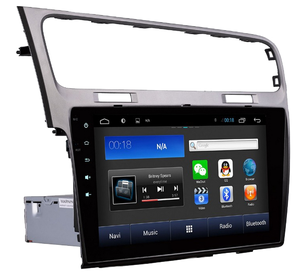 autoradio android gps tactile 10 2 volkswagen golf 7 golf vii autoradio android. Black Bedroom Furniture Sets. Home Design Ideas