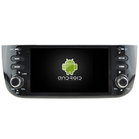 Autoradio Android 8.0 internet WIFI Navigation Fiat Punto evo (PAS de lecteur CD/DVD)