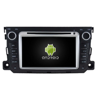 Autoradio Android 5.1 GPS Smart Fortwo de 2010 à 2014