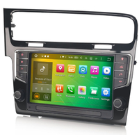 Autoradio Android 7.1 wifi Bluetooth GPS Waze Volkswagen Golf VII