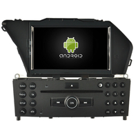 Autoradio Android 8.0 GPS tactile Mirrorlink Mercedes Benz GLK X204 depuis 2008
