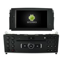 Autoradio Android 8.0 GPS DVD écran tactile Mercedes Benz Classe C W204 de 2007 à 2011