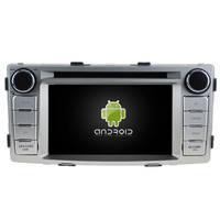 Autoradio Android 8.0 Wifi GPS USB DVD Toyota Hilux de 2012 à 2016