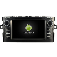 Autoradio Android 8.0 Mirrorlink iPhone GPS Toyota Auris de 2007 à 2012