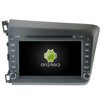 Autoradio Android 8.0 GPS Honda Civic depuis 2012