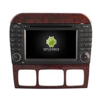 Autoradio Android 8.0 GPS Mercedes Benz Classe S W220 de 1998 à 2005 & SL R230 de 07/2004 à 2009