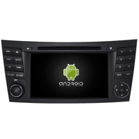 Autoradio Android 8.0 GPS Mercedes Benz Classe E W211, CLS & Classe G W463