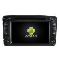 Autoradio Android 8.0 GPS Mercedes Benz Classe A W168, Classe C W203, Classe E W210, ML W163, CLK, SLK W170, Classe G, Viano & Vito