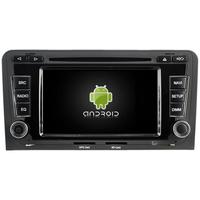Autoradio Android 8.0 écran tactile Wifi GPS Audi A3 de 2003 à 2012