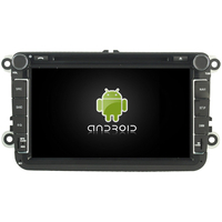 "Autoradio Android 8.0 GPS Wifi tactile 8"" Volkswagen Eos, Golf 5 & 6, Caddy, Scirocco, Polo, Tiguan, Touran, Passat CC, Amarok, Coccinelle, Seat Leon, Alhambra et Skoda Fabia, Octavia, Superb, Yeti, Roomster & Rapid"