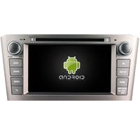 Autoradio Android 8.0 avec GPS écran tactile Toyota Avensis de 2004 à 2008