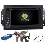 Autoradio Android 8.0 GPS WIFI tactile Jeep Grand Cherokee, Compass, Commander, Wrangler, Patriot