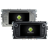 Autoradio Android 8.0 GPS Ford Mondeo, Focus, S-Max, Galaxy - noir ou argenté