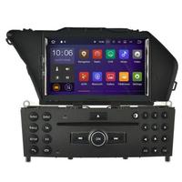 Autoradio Android 8.1 GPS tactile Mirrorlink Mercedes Benz GLK X204 depuis 2008