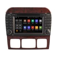 Autoradio Android 8.1 GPS Mercedes Benz Classe S W220 de 1998 à 2005 & SL R230 de 07/2004 à 2009