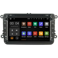 "Autoradio Android 8.1 GPS Wifi tactile 8"" Volkswagen Eos, Golf 5 & 6, Caddy, Scirocco, Polo, Tiguan, Touran, Passat CC, Amarok, Coccinelle, Seat Leon, Alhambra et Skoda Fabia, Octavia, Superb, Yeti, Roomster & Rapid"