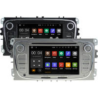 Autoradio Android 8.1 GPS Ford Mondeo, Focus, S-Max, Galaxy - noir ou argenté