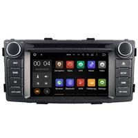 Autoradio Android 8.1 Wifi GPS USB DVD Toyota Hilux de 2012 à 2016