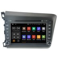 Autoradio Android 8.1 GPS Honda Civic depuis 2012