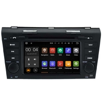 Autoradio Android 8.1 GPS Waze Bluetooth DVD Mazda 3 de 2004 à 2009