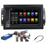 Autoradio Android 8.1 GPS WIFI tactile Jeep Grand Cherokee, Compass, Commander, Wrangler, Patriot