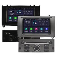 Autoradio Android 9.0 avec GPS écran tactile Peugeot 407