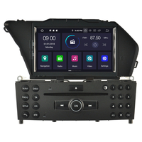 Autoradio Android 9.0 GPS tactile Mirrorlink Mercedes Benz GLK X204 depuis 2008