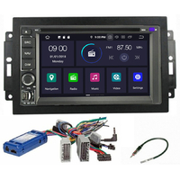 Autoradio Android 9.0 GPS WIFI tactile Jeep Grand Cherokee, Compass, Commander, Wrangler, Patriot