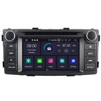 Autoradio Android 9.0 Wifi GPS USB DVD Toyota Hilux de 2012 à 2016