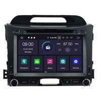 Autoradio Android 9.0 GPS Kia Sportage de 2010 à 2013 écran tactile 8 pouces